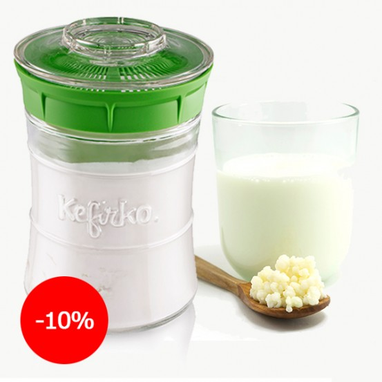 How to make GfMAF kefir and where to buy kefir fungi?